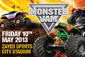 Radek Bilek Monster Jam United Arab Emirates Abu Dhabi 10 05 2013